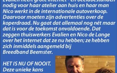 """""""Het is nu of nooit"""" – Evalien en Nico de Lange"""