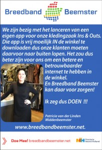 advertentie Breedbandbeemster FAQ 12