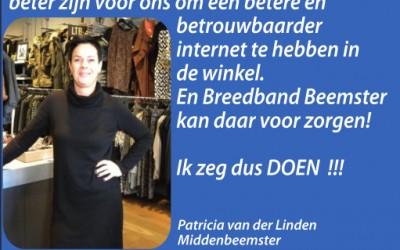 Ik zeg dus doen! – Patricia van der Linden