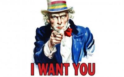 We hebben uw hulp nodig!